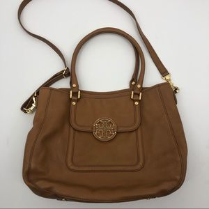 Tory Burch Amanda convertible leather satchel